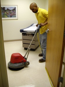 Hard Surface Floor Maintence - Floor Buffing